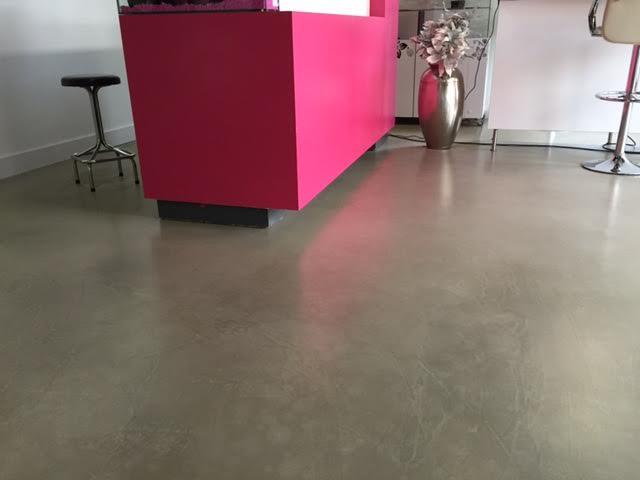 Vloeren Op Beton : Beton look van rooijen vloeren